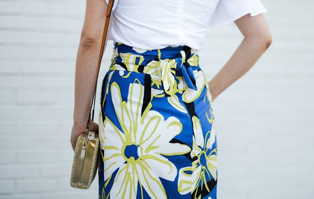 whit two skirt, anthropologie blue and yellow floral skirt, matira skirt, anthropologie maxi skirt, anthropologie blue and yellow maxi skirt