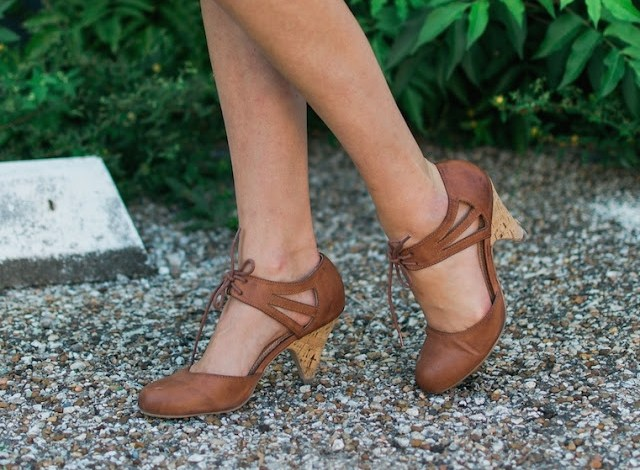 Francesca's heels, francesca's brown heels, brown mary jane heels, mod cloth brown heels, mod cloth brown mary jane heels