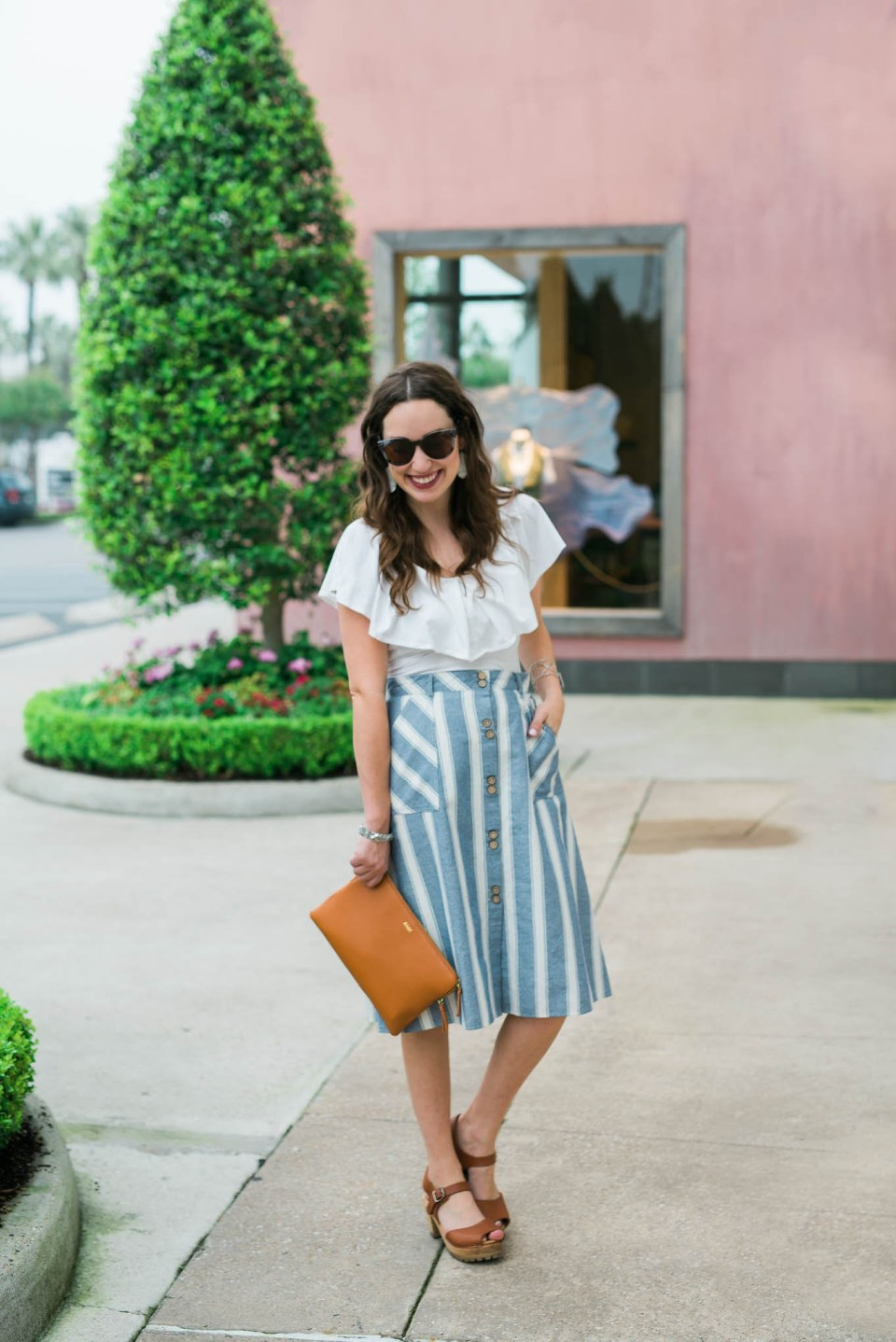 Striped_Midi_Skirt_Off_the_Shoulder_Top3