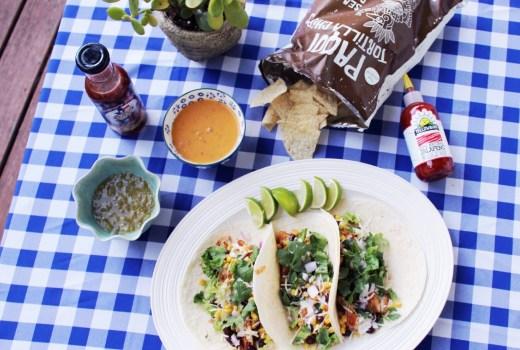bbq chicken taco recipe, texas bbq chicken tacos, southwestern bbq tacos