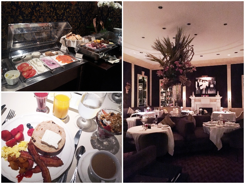 Breakfast at The Carlyle Hotel in NYC