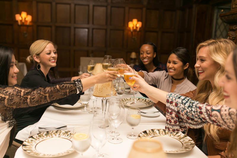 Travel Blogger Dinner at Rosewood Mansion in Dallas, TX.