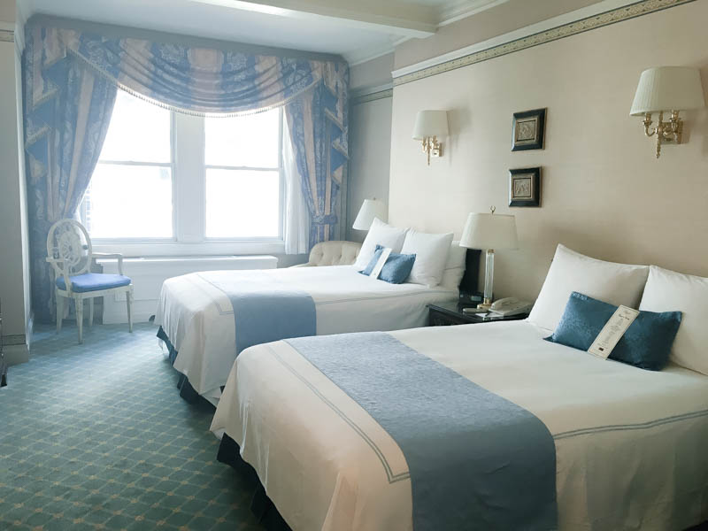 A review of Hotel Elysee guestroom in New York City.