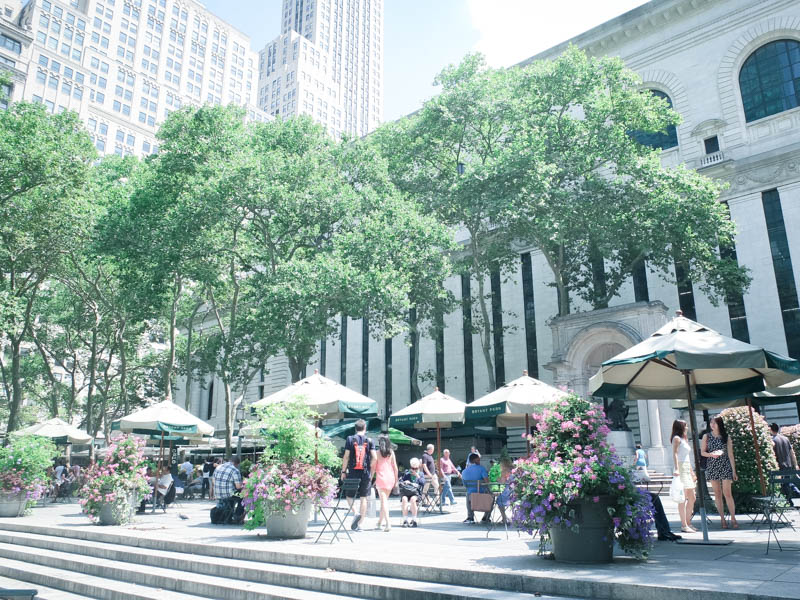 Bryan Park in New York City