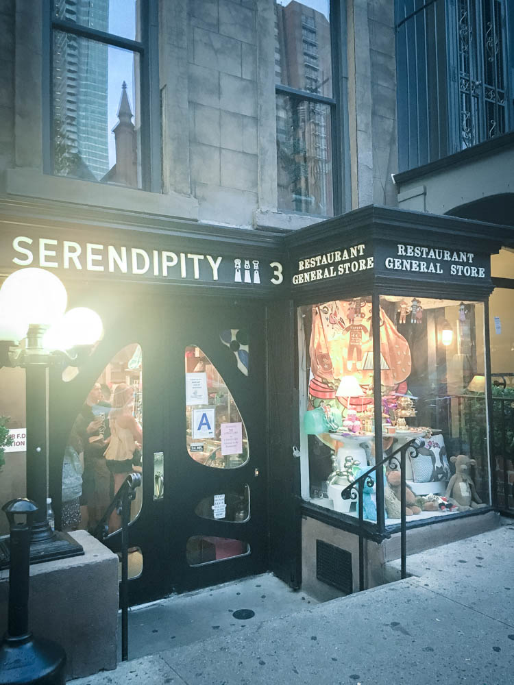 Serendipity in New York City