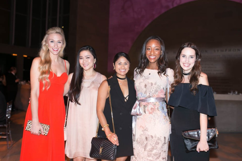 Fashion Bloggers attend the Dallas Symphony Gala 2016