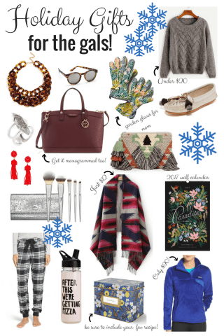 Holiday Gift Ideas for Girls: Best friend, girl friend, mom, sister, and more!