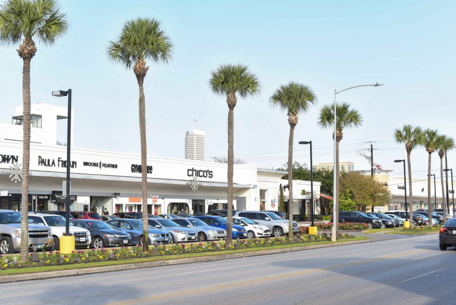 Best places to shop in Houston: River Oaks Shopping Center.