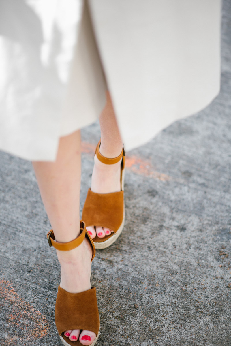 Shoe crush: steve madden brown wedges.