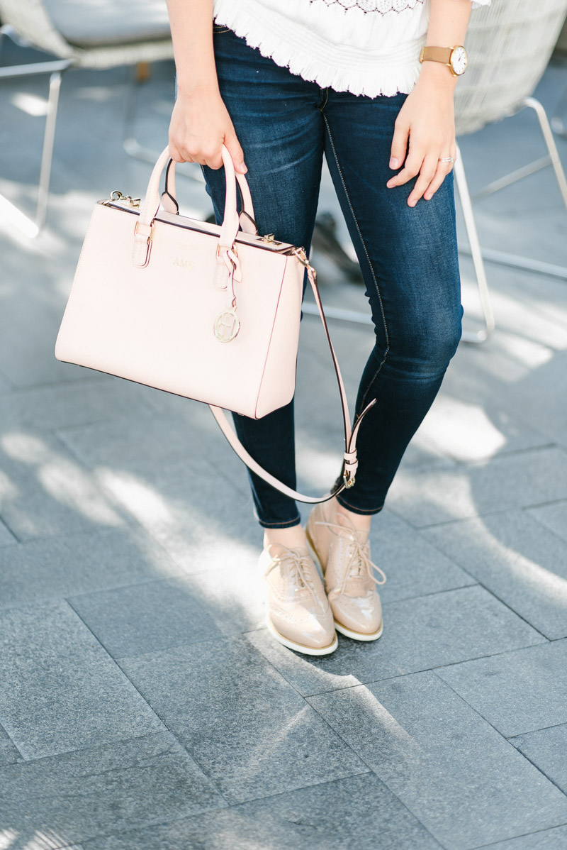 Rockport_Oxford_Shoes_White_Off_the_Shoulder_Top-7