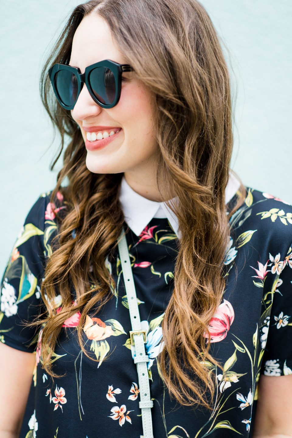 Floral_Shirt_Dress_Adidas_Sneakers-12