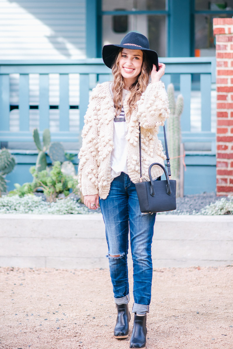 Casual Style in a Cozy Sweater