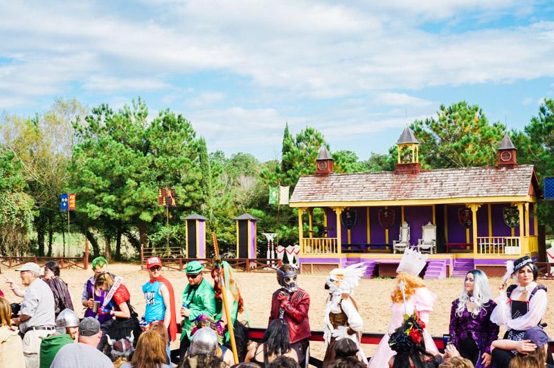 Texas Renaissance Festival Blog Review - Heroes and Villians Costume Contest
