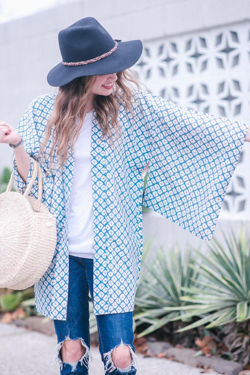 Cheeky Vintage Kimono