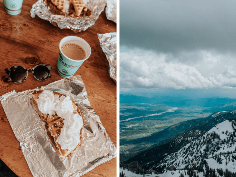 Jackson Hole Travel Guide: Waffles at Corbets Cabin