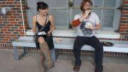 Al and Tija at Diverse Works before courtesy of Gim Gwang Cheol