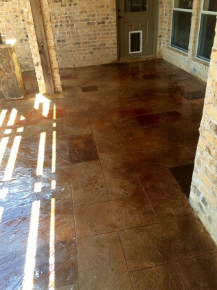 Residential Concrete Gallery Lone Star Power Wash Amp Concrete Floors