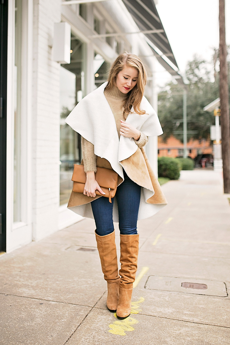 free people faux shearling vest