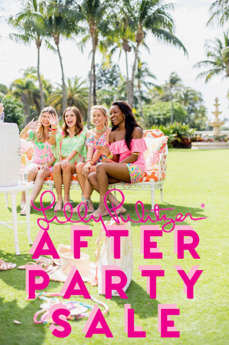 lilly pulitzer after party sale 2018