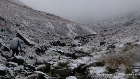 The path up Crowden Clough is great - not great quality, but rugged and steep, great fun tho