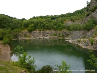 Lovely tranquil quarry