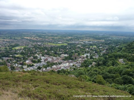 Great Malvern, a very picturesque town from this angle