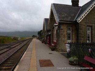 The station buildings at Ribblehead