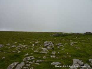 Looking for the highpoint on Wold Fell...