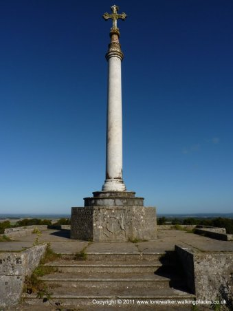 Crimean War memorial - commemerating the battles of Alma and Inkerman in 1854
