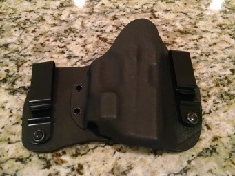 Inside the waistband Hybrid Kydex and leather holster