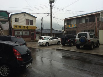 Somewhere in Gapyeong - the gateway town to Namiseom