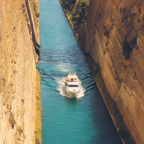 Corinth Canal, Greece
