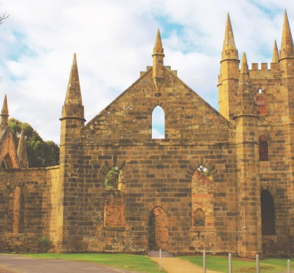 Stepping back in time, become a Convict at Port Arthur, Tasmania