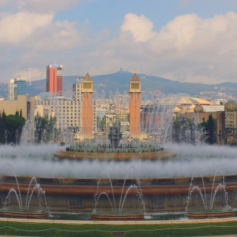 Magic Fountain, Barcelona, Spain