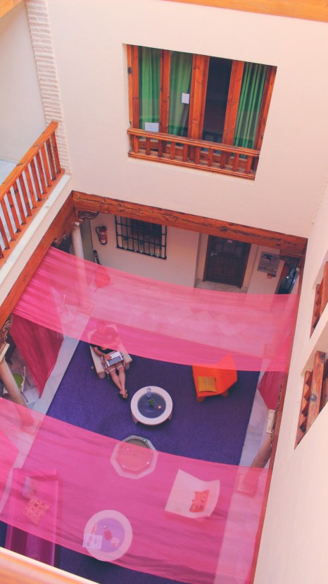 White Nest Hostel, Granada, Spain