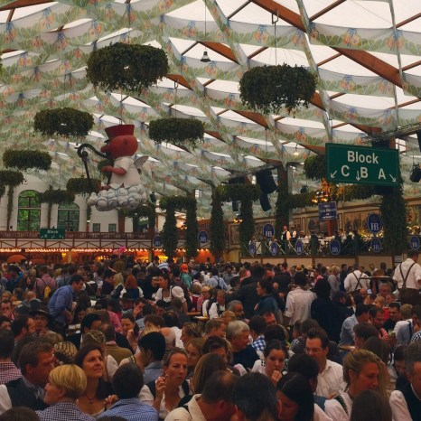 Oktoberfest 2015, Munich, Germany