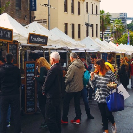 The Rocks Market, Sydney, Australia