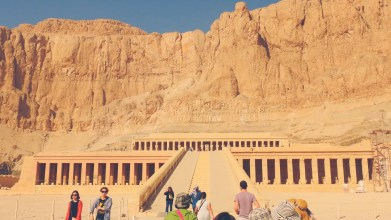 Temple of Queen Hatshepsut, Luxor, Egypt
