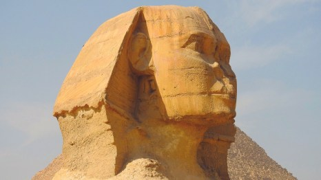 The Great Sphinx of Giza, Cairo, Egypt