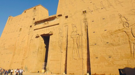 Edfu Temple, Edfu, Egypt