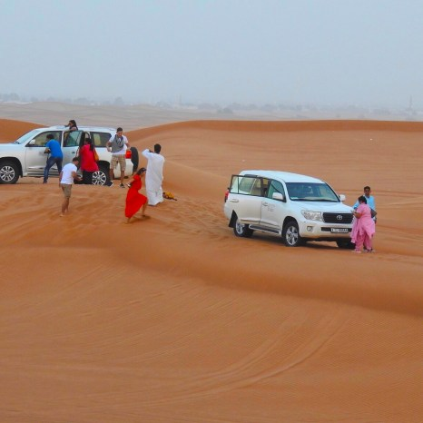 Dune Bashing, Dubai, United Arab Emirates