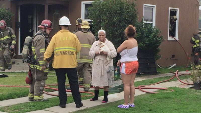 bixby knolls house fire