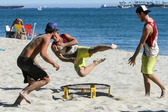 spikeball long beach