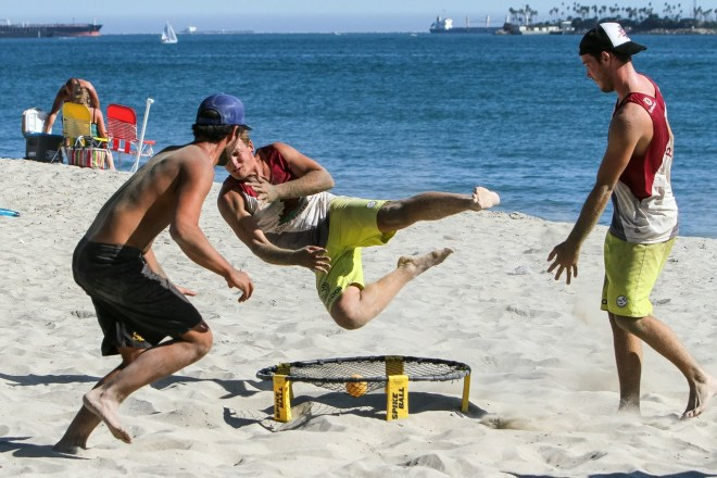 spikeball long beach