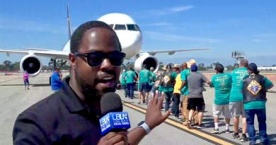 Special Day for the Special Olympics at Long Beach Airport