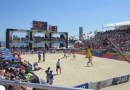 Olympian local Lauren Fendrick finalist at World Series of Beach Volleyball today in LB