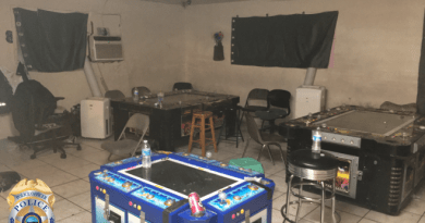 11 Arrested During Search Warrant at Illegal Gambling Operation