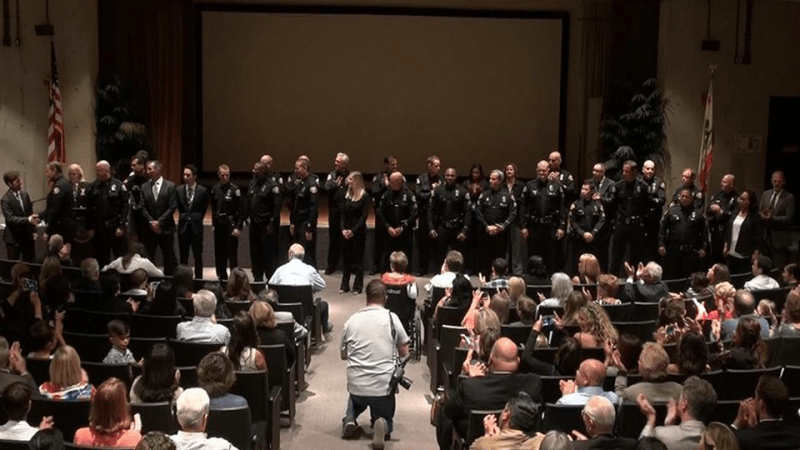 long beach police department promotions