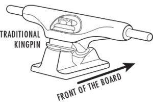 Longboard Trucks Traditional Kingpin