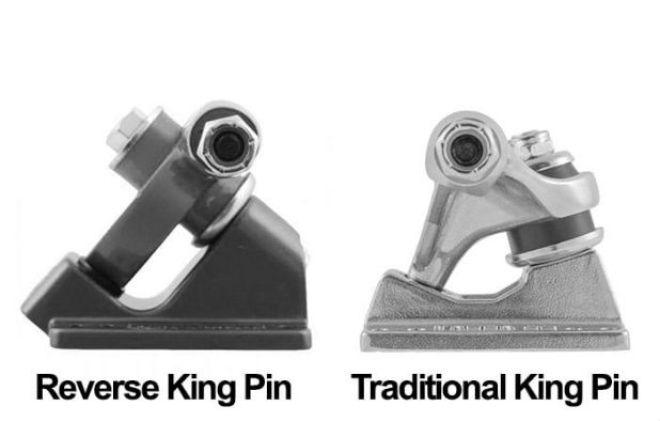 Traditional vs. Reverse Kingpin